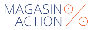 Logo guide magasin action spécialiste bonne affaire