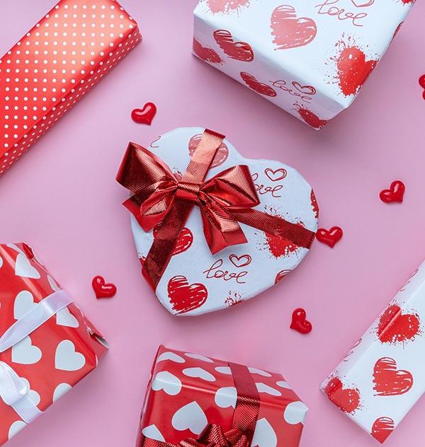 Saint-Valentin magasin action