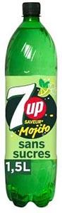 Limonade 7up mojito sans sucre